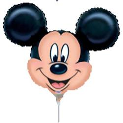 Mickey Mouse Mini Shape Air filled with cup and stick.
