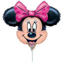 Minnie Mouse Mini Shapes Air filled with cup and stick.
