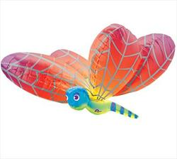 Rainbow Dragonfly SuperShape 101cm x 79cm.