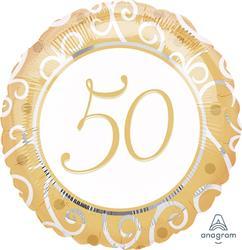 50th Anniversary 45cm