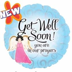 Get Well Soon Angel 45cm