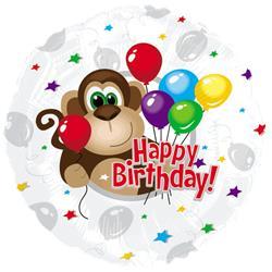 Monkey Around Birthday 45cm