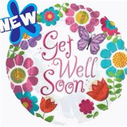 Get Well Soon Girl 45cm