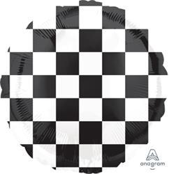 Checkerboard Balloon 45cm