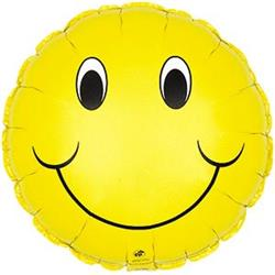 Smiley Face 10cm yellow
