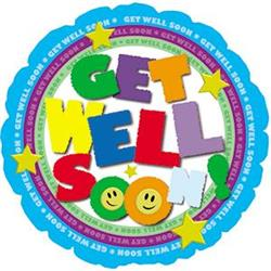 Get Well Colouful Type 10cm
