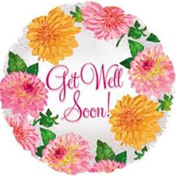 Get Well Crysantheums 10cm