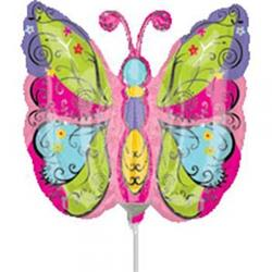 Whimsical Garden Butterfly Mini Shape