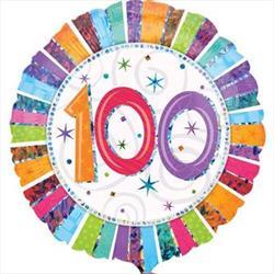 Radiant Birthday 100 45cm
