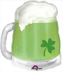 St Patricks Beer Mug See Thru Shape 58 x 51cm