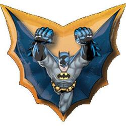 Batman Cape Shape 71 x 69cm