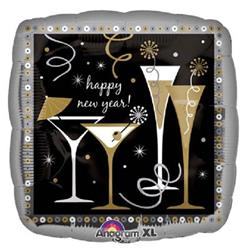 Toast To The New Year 45cm