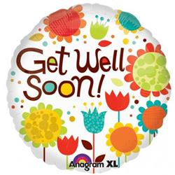 Cheery Flowers Get Well 45cm