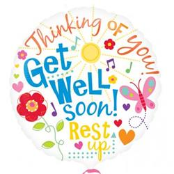 Get Well Messages 45cm