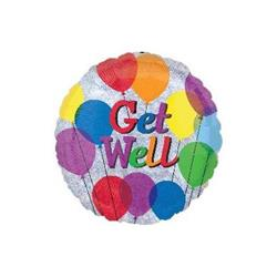 10cm Get Well Balloon