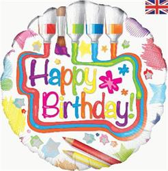 Oaktree Art Birthday 45cm Foil