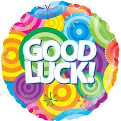 Oaktree Good Luck Rainbow Circles 45cm Foil