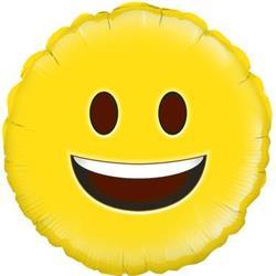 Oaktree Happy Emoji 45cm Foil.