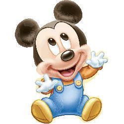 Mickey 1st Birthday Boy Shape 51 x 84cm