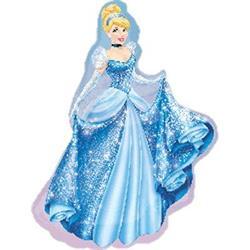 Cinderella  Helium Shapes 71cm x 84cm