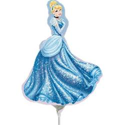 Cinderella Mini Shape Air filled with cup and stick.