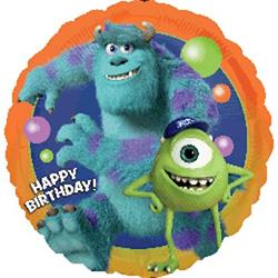 Monsters University Birthday 45cm