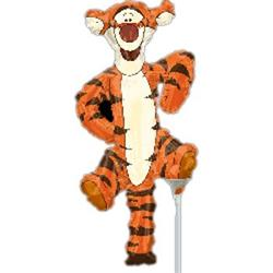Tigger Full Body Mini Shape Air filled with cup and stick.