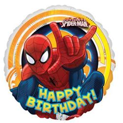 Spiderman Ultimate Birthday 43cm HeXL