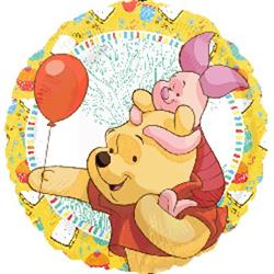 Pooh Piglet Celebration 43cm HeXL