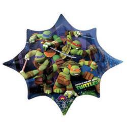 Teenage Mutant Ninja Turtle Shape G 88 x 73cm