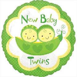 New Baby Twins Peas in A pod 45cm HeXL