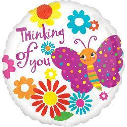 Cute Butterfly Thinking Of You 45cm