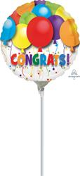 Bold Congratulations Balloons10cm
