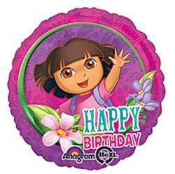 Dora Happy Birthday 43cm HeXL