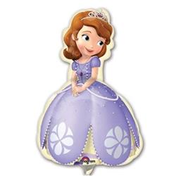 Sofia the First Mini Shape Air filled with cup and stick.