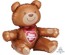 Valentine Sitting Bear 45 x 43cm