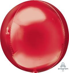 Orbz Dazzling Red Solid Colour 43cm x 45cm