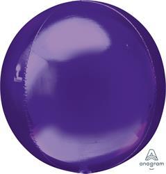 Orbz Dazzling Purple Solid Colour 43cm x 45cm