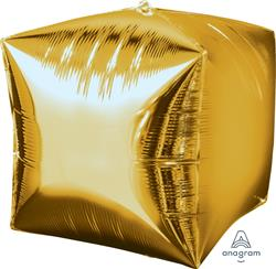Cubez Gold Solid Colour 38cm x 38cm