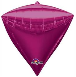 Diamondz Bright Pink Solid Colour 40cm x 43cm