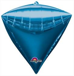 Diamondz Blue Solid Colour40cm x 43cm