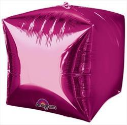 Cubez Bright Pink Solid Colour 38cm x 38cm