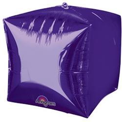 Cubez Purple Solid Colour 38cm x 38cm