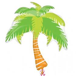 Summer Scene Palm Tree Super Shape 74cm x 83cm NEW