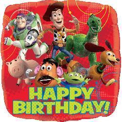 Toy Story Gang Happy Birthday 45cm