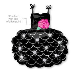 Little Black Dress Super Shape 58cm x 71cm