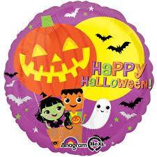 Happy Halloween Balloon Flight 45cm