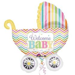 Baby brights Carriage SuperShape 71cm x 79cm.