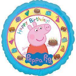 Peppa Pig Happy Birthday. 45cm
