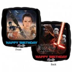 Star Wars The Force Awakens Happy Birthday 43cm HeXL